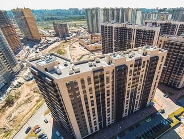 Строительство жилого квартала «Солнечный» (Арсенал)