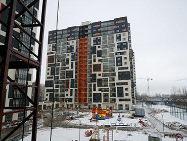 Строительство жилого квартала ЖК «Гольфстрим»
